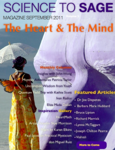 The Heart & The Mind, Science to Sage E-Zine 2011