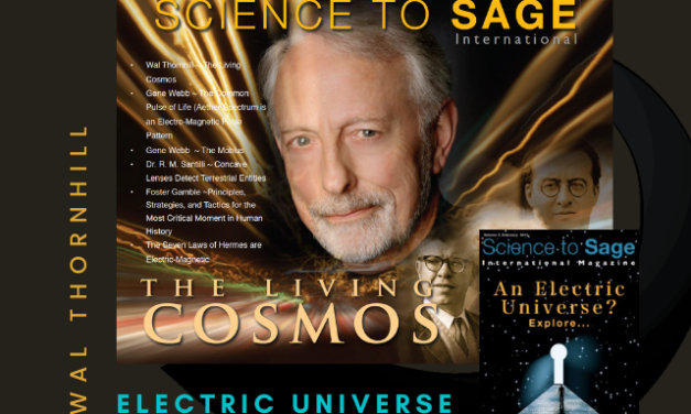 Wal Thornhill—Electric Universe Model