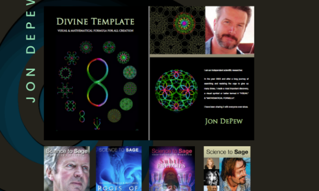 JON DEPEW—UNIVERSAL TEMPLATE FOR LIFE