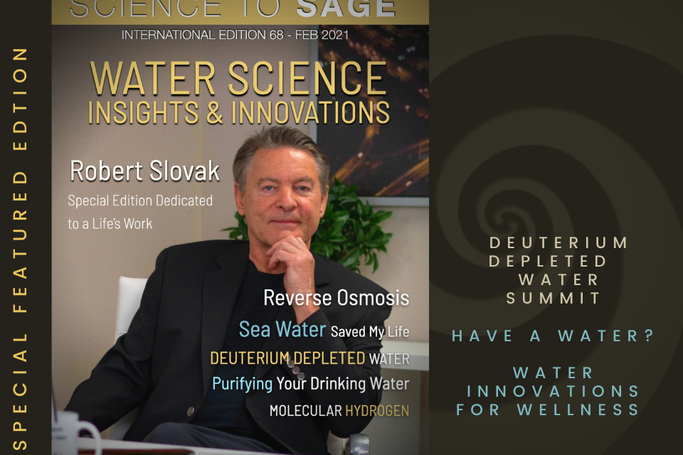 68 Science to sage  — WATER SCIENCE: INSIGHTS & INNOVATIONS