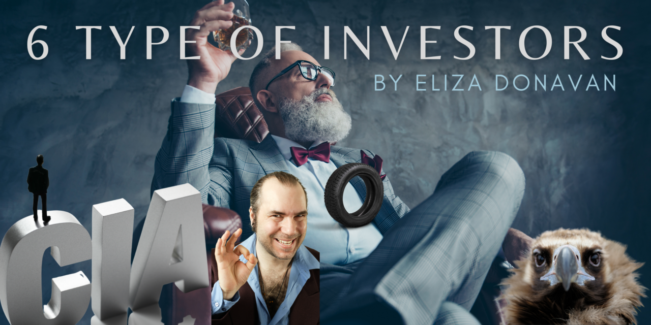 Experience with Investors: 6 TYPES